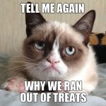 Why We Ran Out Treats